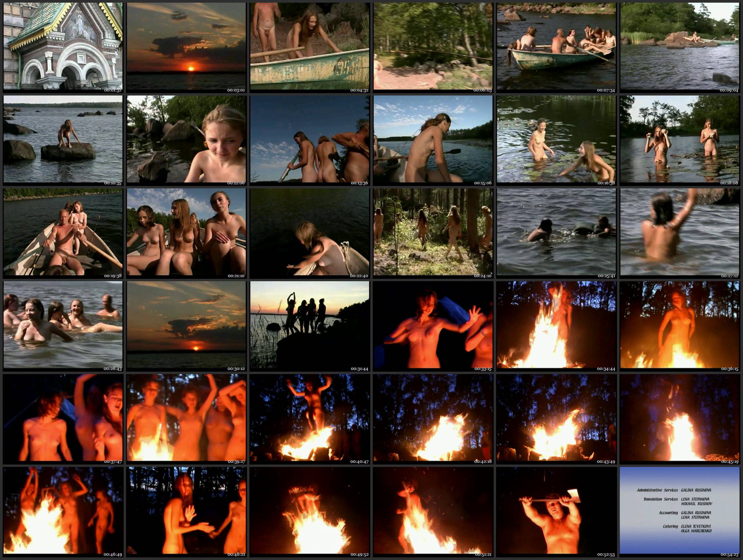 RussianBare Videos Rituals Of Summer - Naturism in Russia 2000 Series - Thumbnails