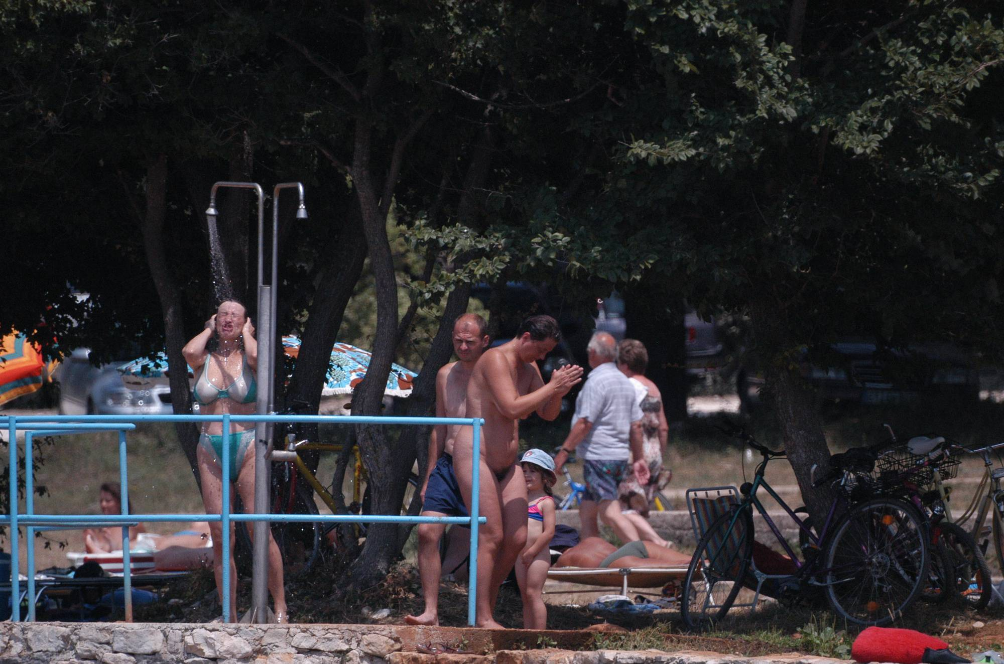 RovinJ Shorefront Shower - 2