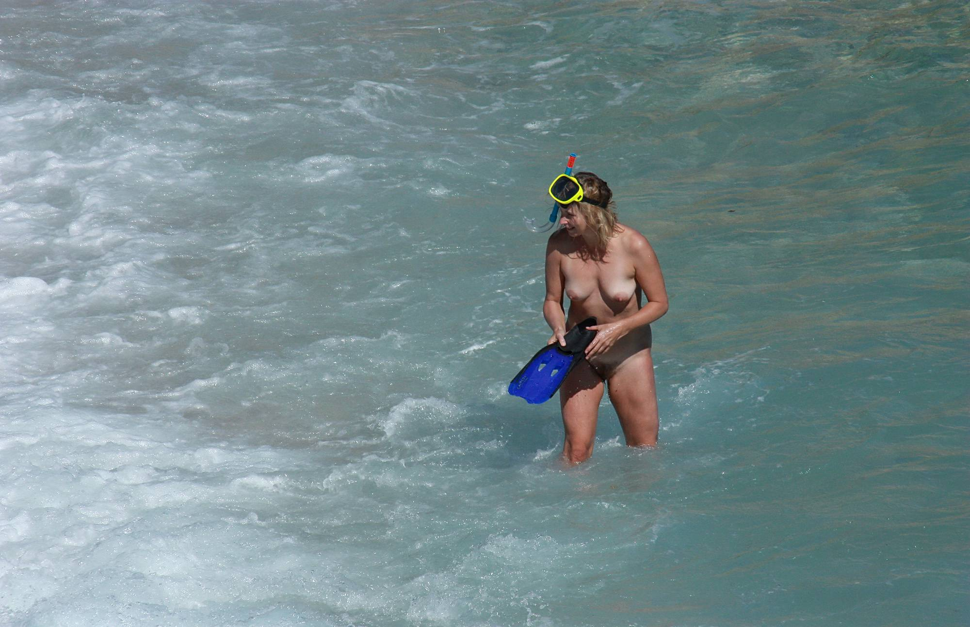 Pure Nudism Images Snorkeling For Treasures - 3