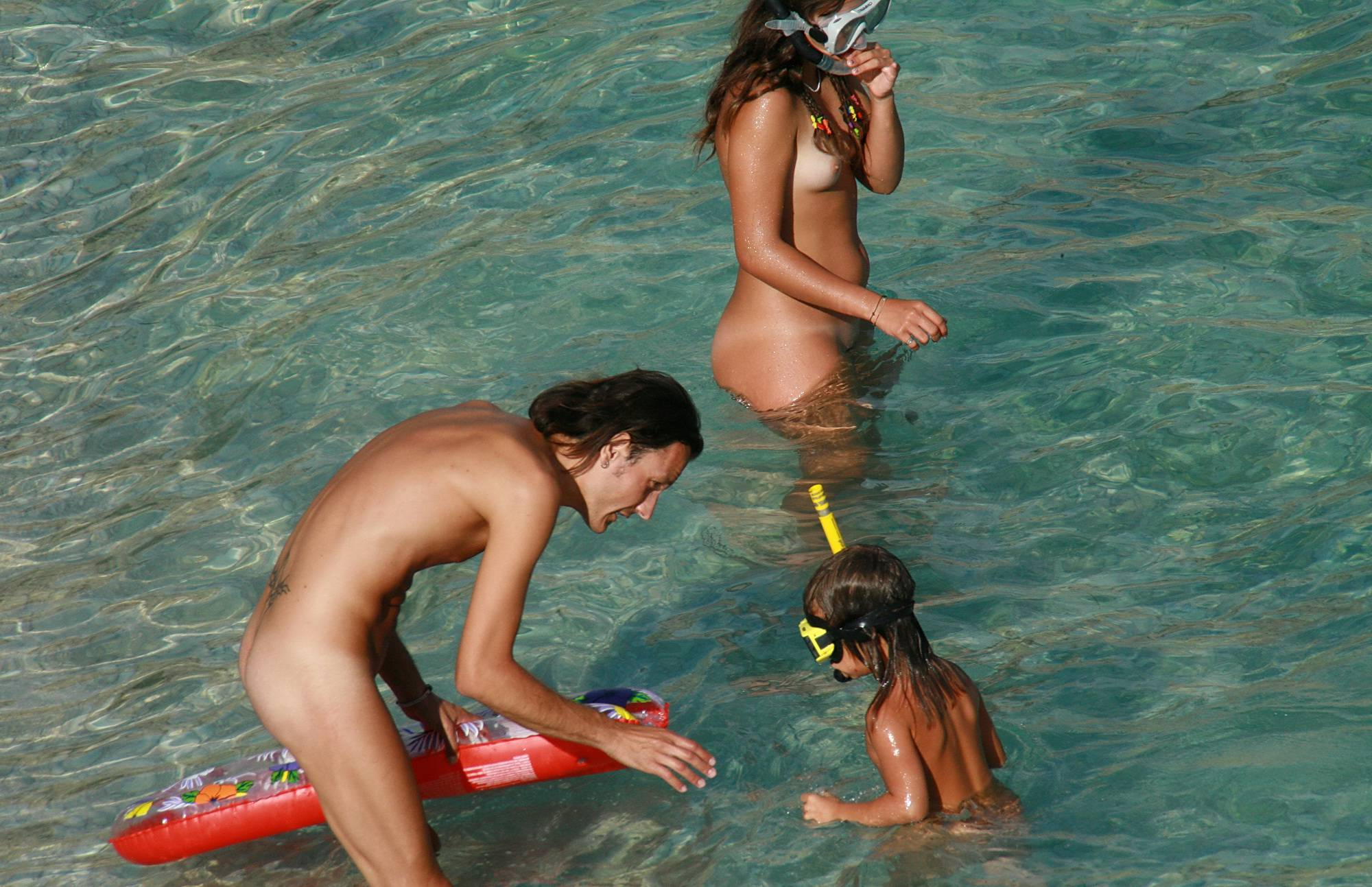 Pure Nudism Gallery Snorkeling Is Exciting - 1