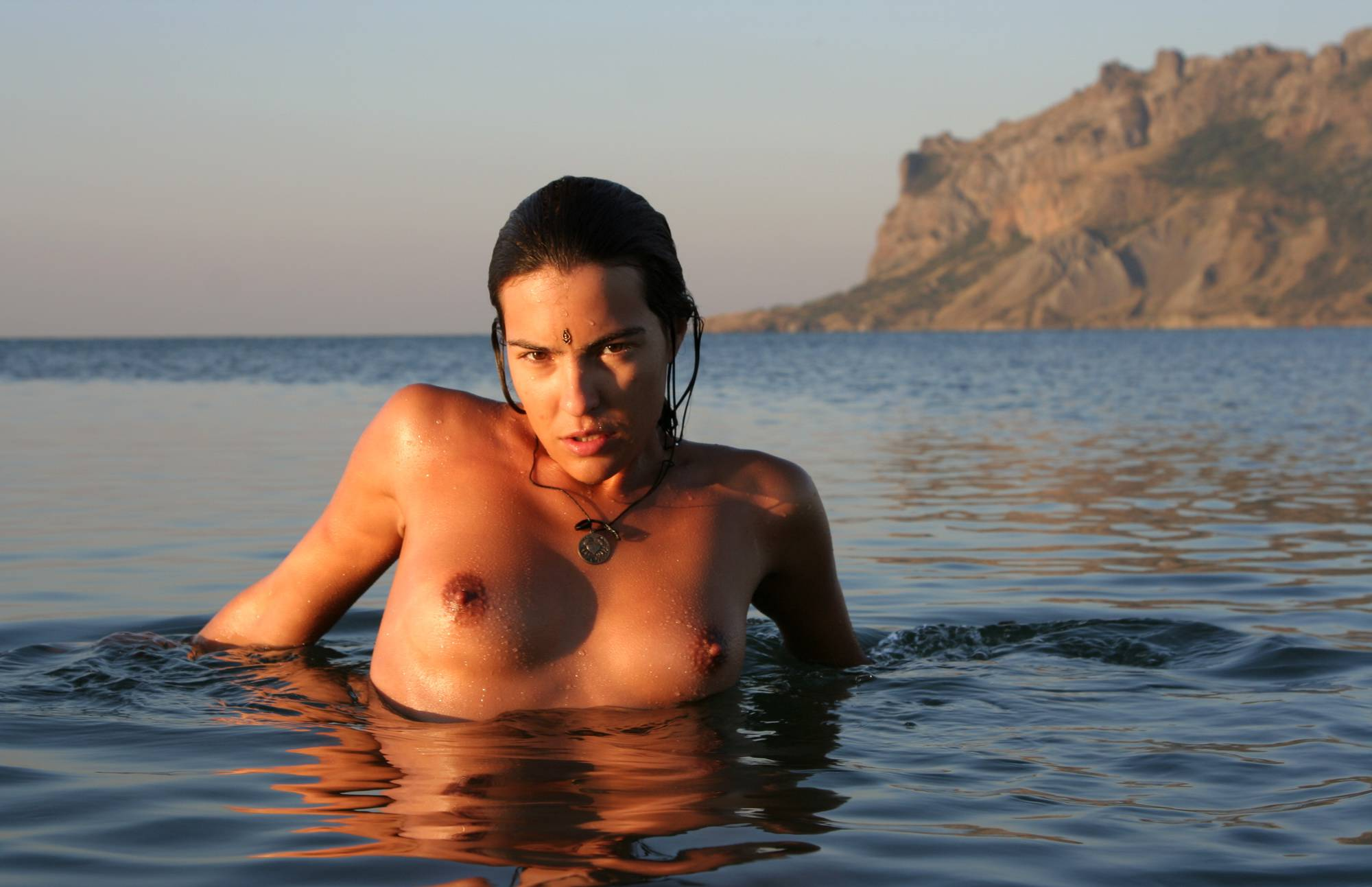 Pure Nudism Gallery Sunlight Water to the Night - 1