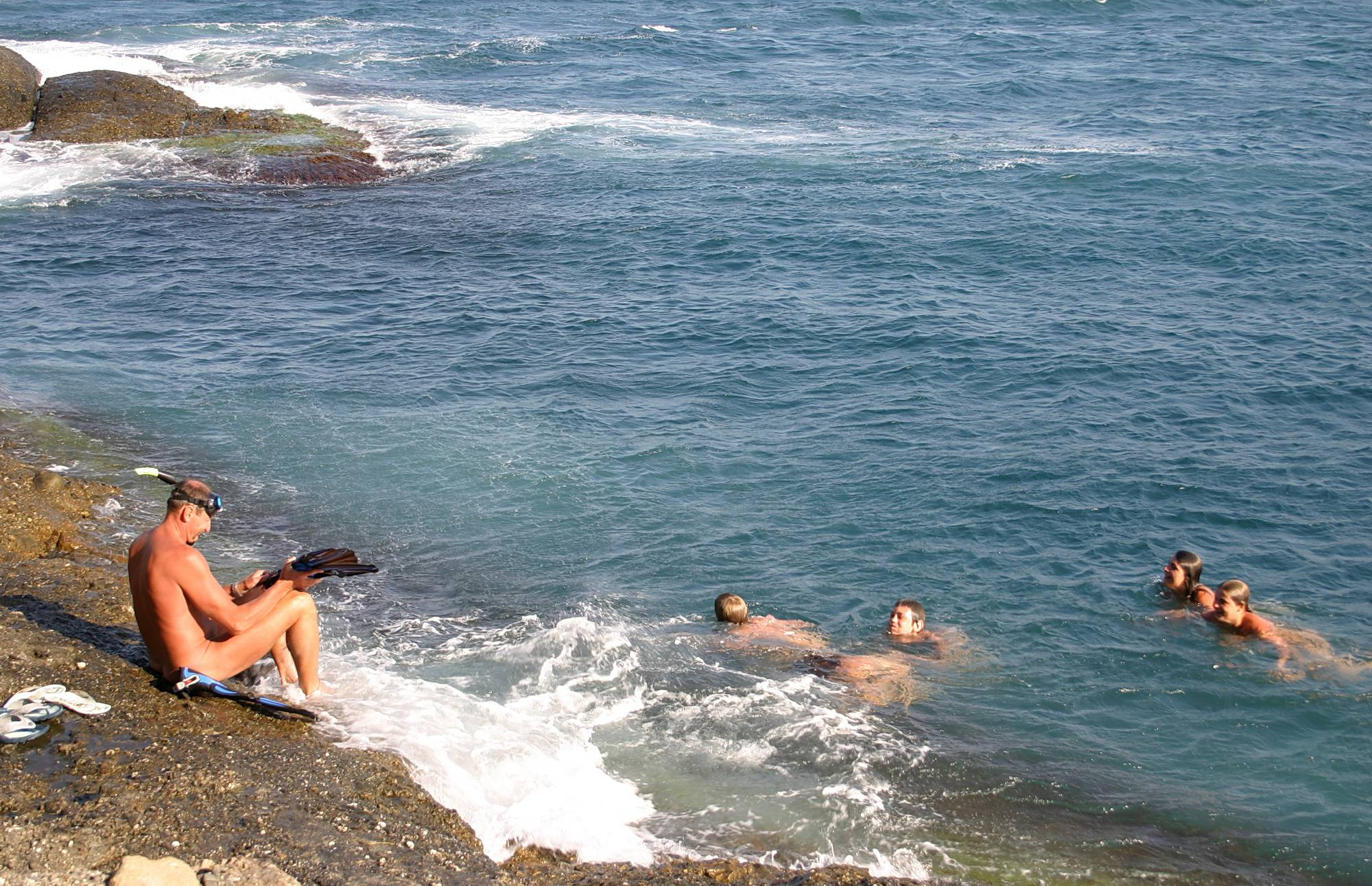 Swim By The Rocky Shore - 3