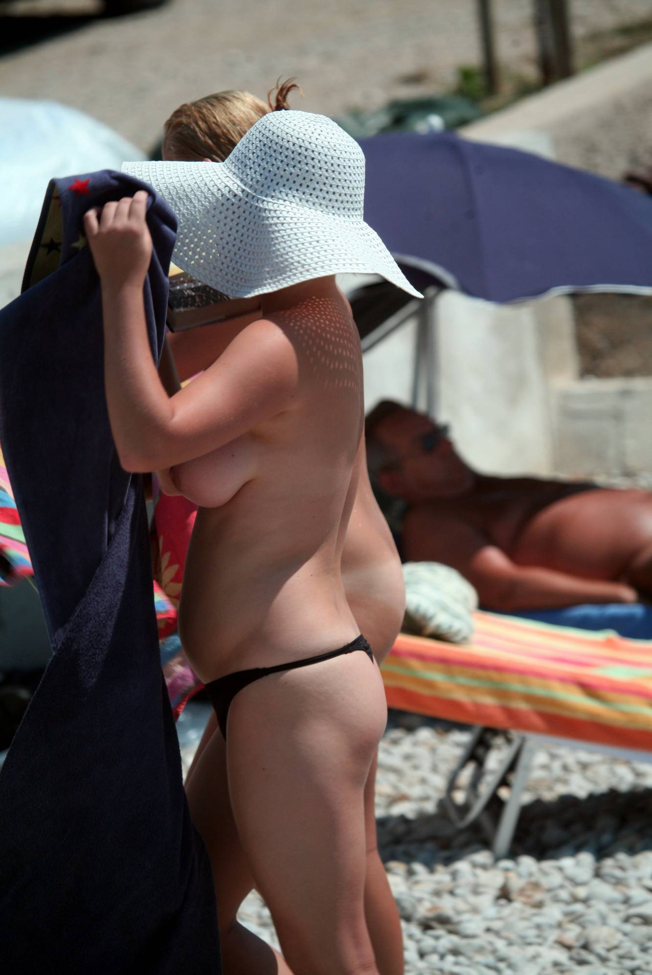 Trail of Two Naturist Girls - 1