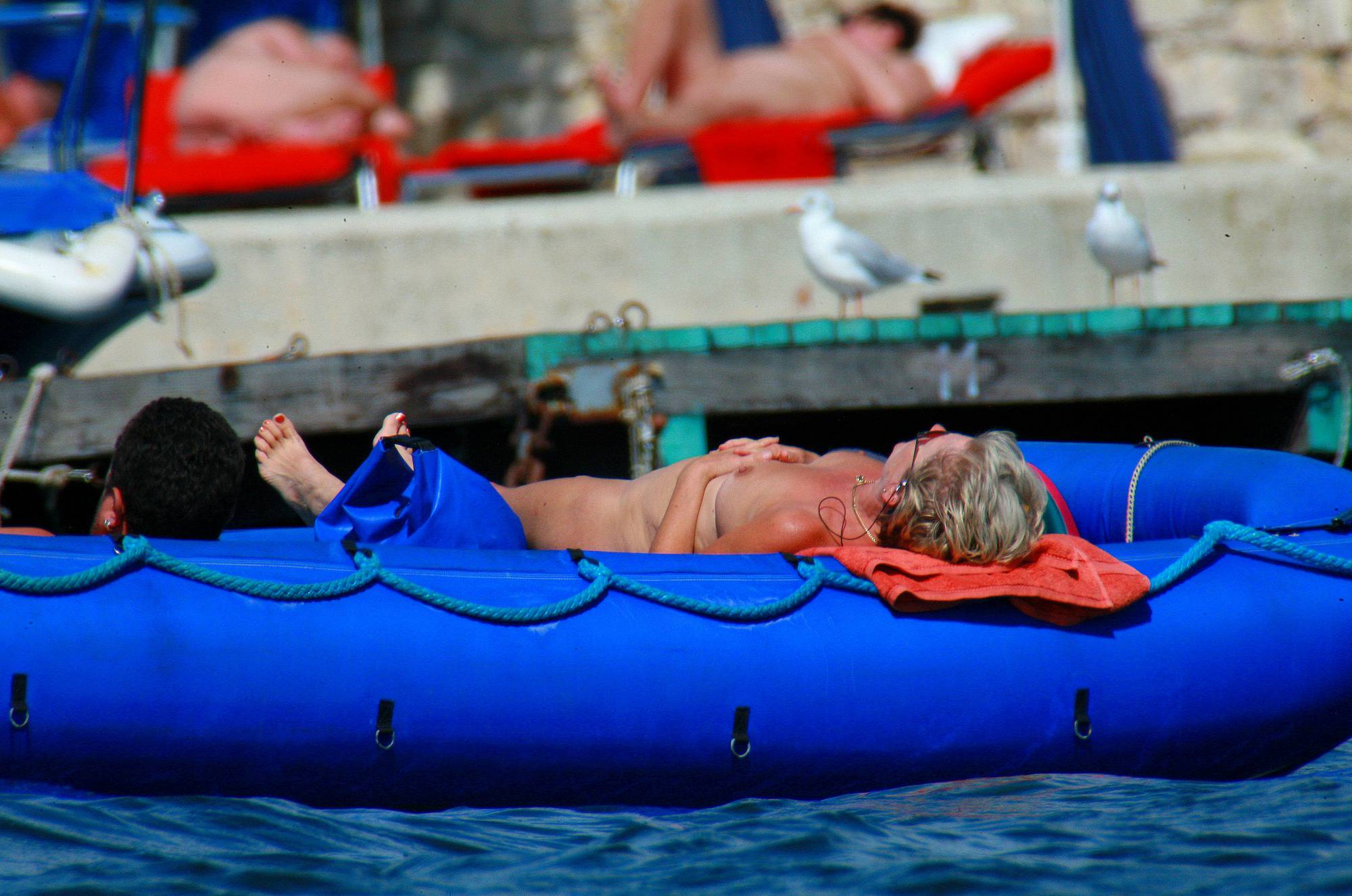 Pure Nudism Images Uka FKK In-Water Boating - 2